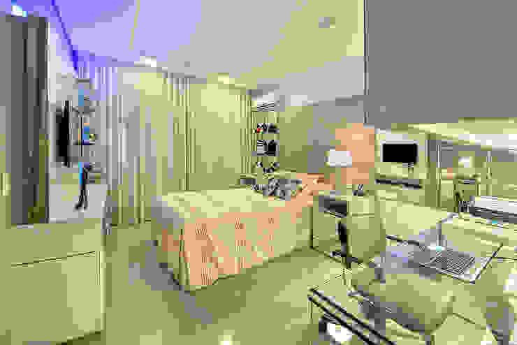 Apartamento contemporâneo de luxo em Fortaleza RI Arquitetura Quartos modernos