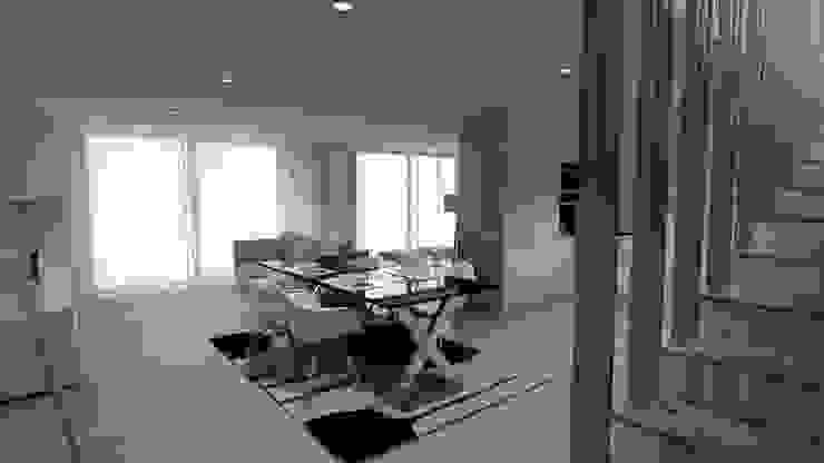 QOTDA Design: modern tarz , Modern Orta Yoğunlukta Lifli Levha