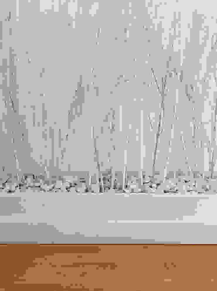Detalles de LABEL Estudio Creativo Minimalista Madera Acabado en madera