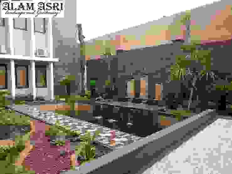 de Alam Asri Landscape Moderno Ladrillos