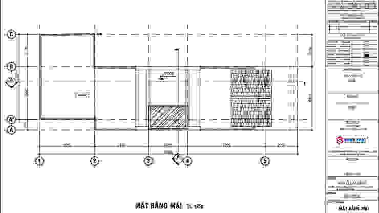 Ngắm Nhìn Mẫu Thiết Kế Nhà Phố Cổ Điển 3 Tầng 65m2 Giá 1,2 Tỷ bởi Công ty Thiết Kế Xây Dựng Song Phát Châu Á