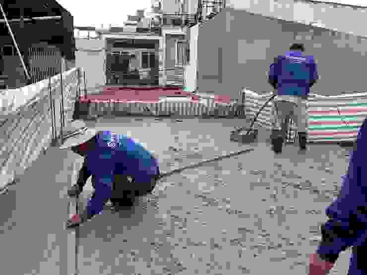 Thi công xây dựng nhà phố by Công ty Thiết Kế Xây Dựng Song Phát Asian
