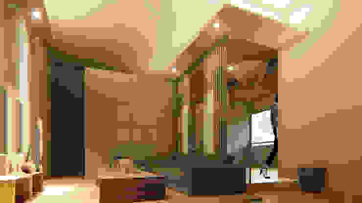 樹林。都更案住商混合示意設計 根據 Redblade Design / 刀赤空間設計工作室