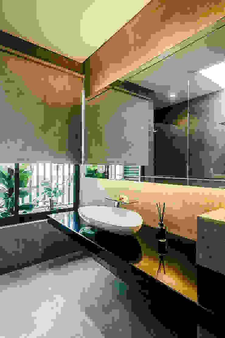 Studio BEVD Salle de bain asiatique