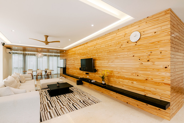 The Grove, Lakefield Studio BEVD Living room