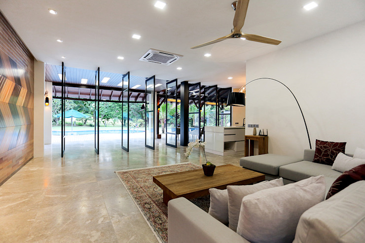 Studio BEVD Livings de estilo moderno
