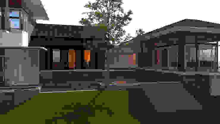 Nilai Spring Bungalow LI A'ALAF ARCHITECT Modern houses