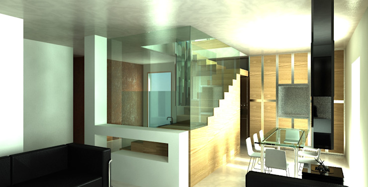 by MEF Architect Modern Glass