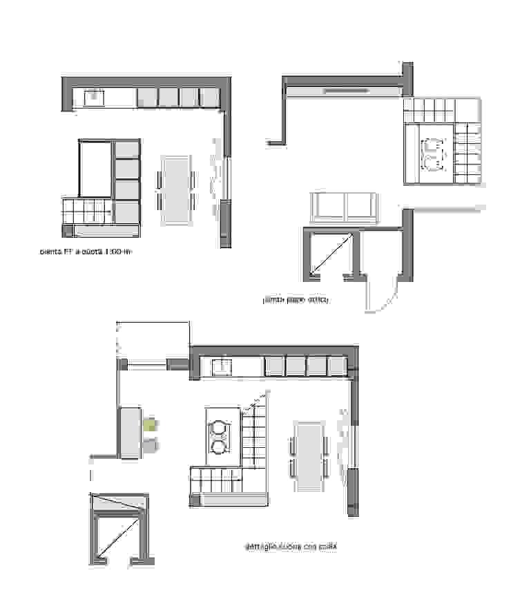 Details MEF Architect Keukenblokken Glas Hout
