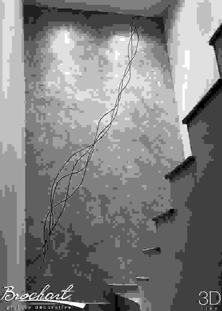Técnica Lino Enredado © de Brochart pintura decorativa Moderno