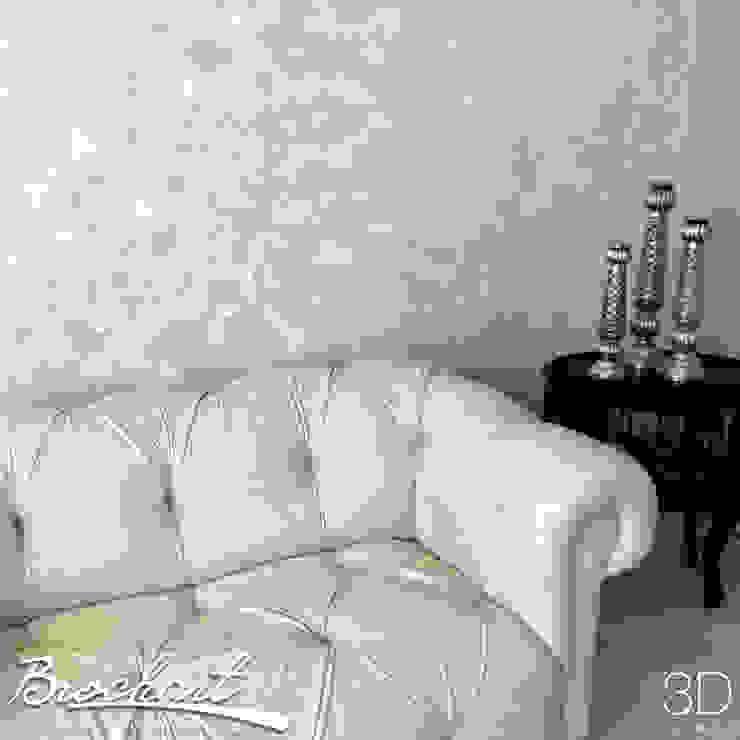 Técnica Ondulante © de Brochart pintura decorativa Minimalista