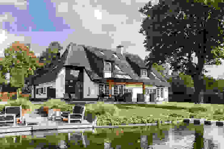 Verbouwing landelijke villa met moderne accenten Bob Romijnders Architectuur + Interieur Landelijke huizen