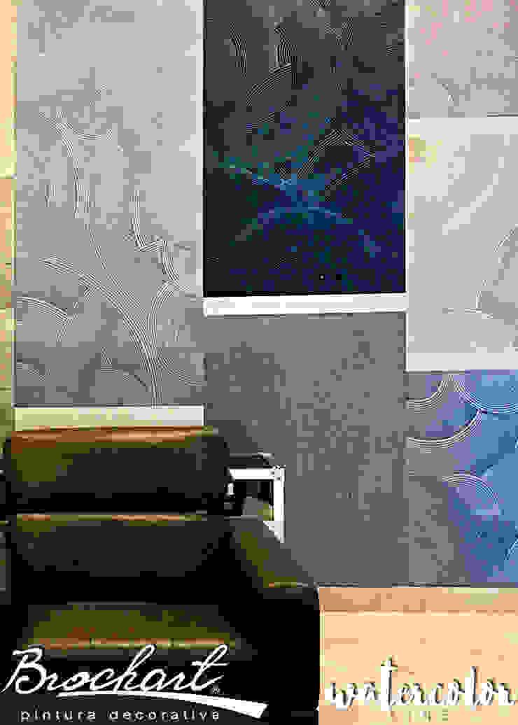 Técnica Acetato © Brochart pintura decorativa Paredes y pisosRevestimientos de paredes y pisos