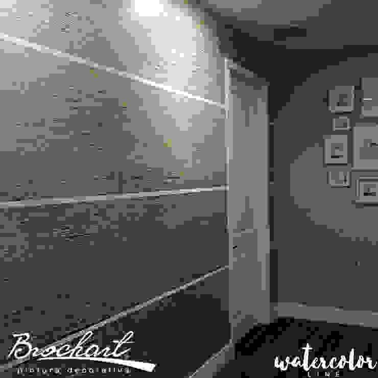 Técnica Fibra Acuarela © Brochart pintura decorativa Paredes y pisosRevestimientos de paredes y pisos