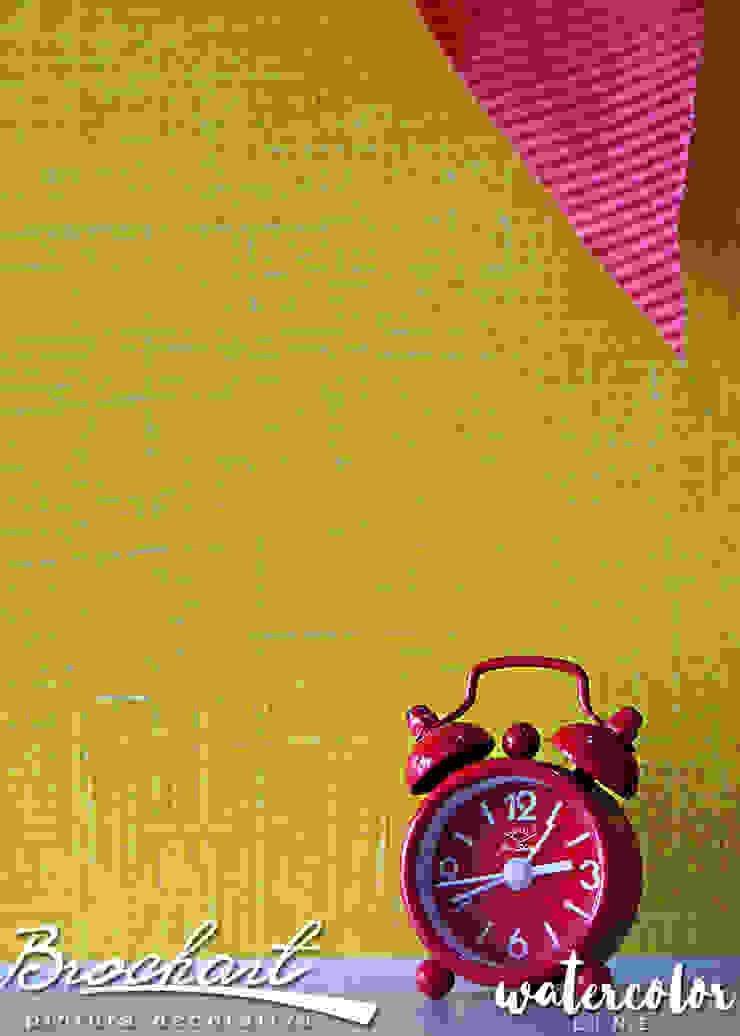 Técnica Lino Acuarela © de Brochart pintura decorativa Moderno