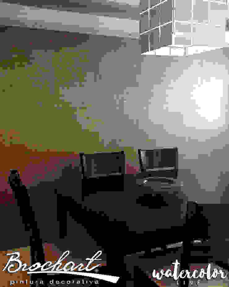 Técnica Lino Acuarela © Brochart pintura decorativa Paredes y pisosRevestimientos de paredes y pisos