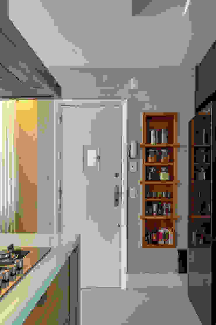 Raquel Junqueira Arquitetura Éléments de cuisine Bois