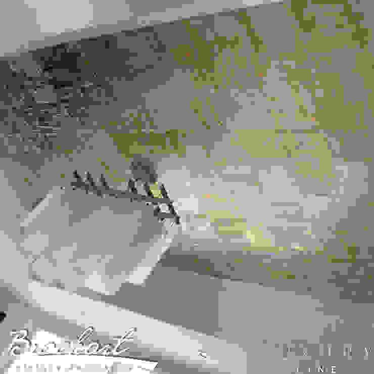 Técnica Hojillado Ajedrez © de Brochart pintura decorativa Ecléctico