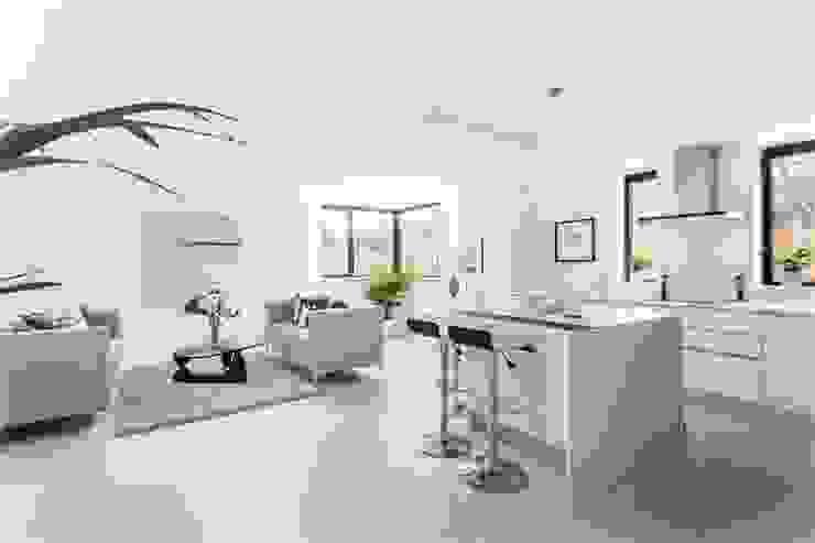 Darcies Mews Modern kitchen by The Crawford Partnership Modern