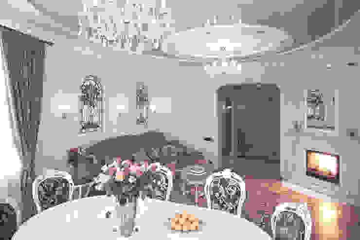 Гостиная в частном доме от Андреевы.РФ