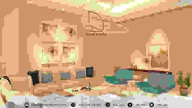 Гостиная в . Автор – Amjad Alseaidan, Модерн