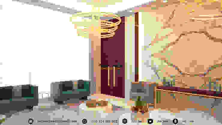 Living room by Amjad Alseaidan, Modern