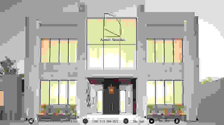 واجهة فيلا - Villa Facade من Amjad Alseaidan