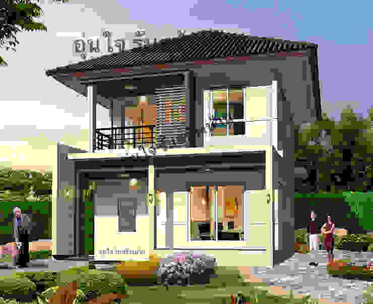 สร้างบ้านกับ อุ่นใจ บิวเดอร์ งบประมาณเริ่มต้นเพียง 1.79 ล้าน พร้อมแบบบ้านอิ่มสุข ซุปเปอร์คุ้มร่วมสมัย 2 ชั้น โดย บริษัท อุ่นใจ บิลเดอร์ จำกัด