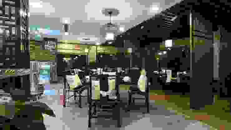 Nhà hàng Tam Hòa Viên: chiết trung  by Nội thất Tam Hòa, Chiết trung