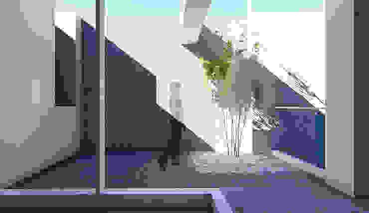 3樓露臺 根據 尋樸建築師事務所 簡約風