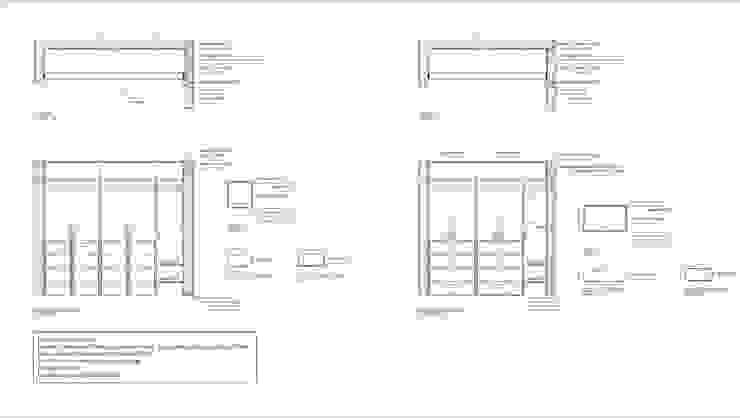 Plano closets Lagom Studio Blanco