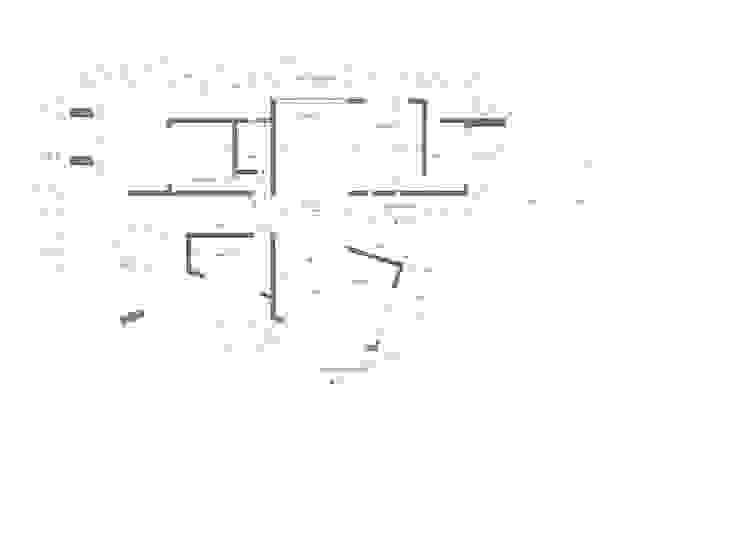 Planta arquitectura de Lagom Studio Moderno
