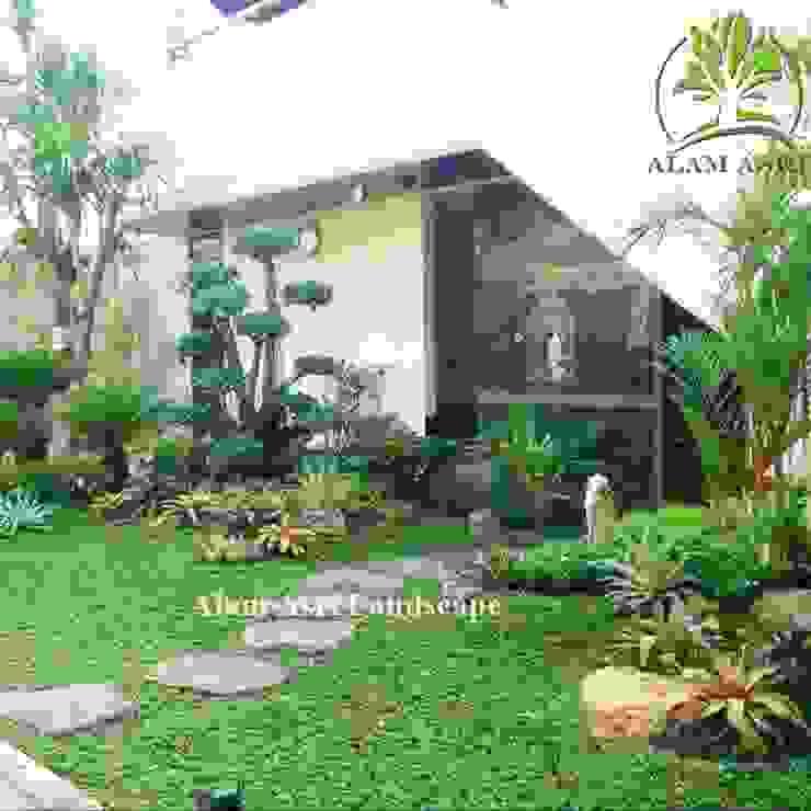Taman Minimalis Bonsai Oleh Alam Asri Landscape Minimalis Kayu Wood effect