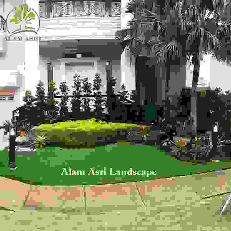 Taman Depan Rumah Surabaya Taman Modern Oleh Alam Asri Landscape Modern Batu