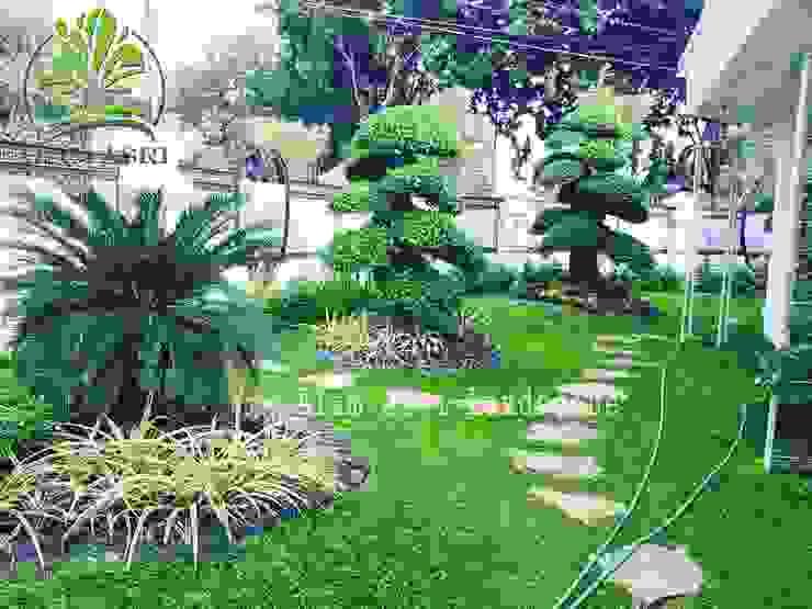 Alam Asri Landscape فناء أمامي خشب Green