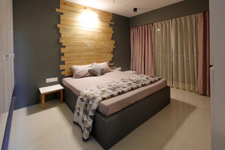 Bedroom malvigajjar Modern style bedroom Wood Wood effect