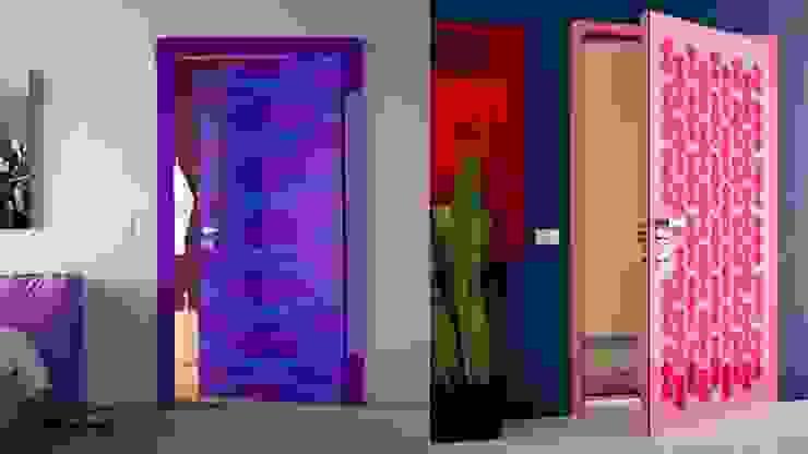 صور وديكورات وأفكار للأبواب هتغير بيها شكل بيتك وهيكون أحلي وأحلي مع كاسل من كاسل للإستشارات الهندسية وأعمال الديكور في القاهرة بلدي MDF