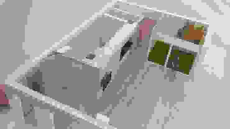 Maqueta de trabajo de Loft 26 Moderno