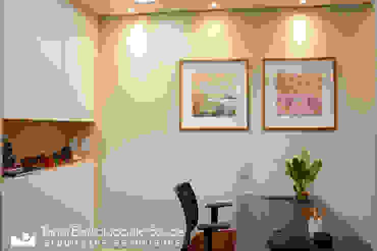 Recepção Escritórios modernos por Tania Bertolucci de Souza | Arquitetos Associados Moderno
