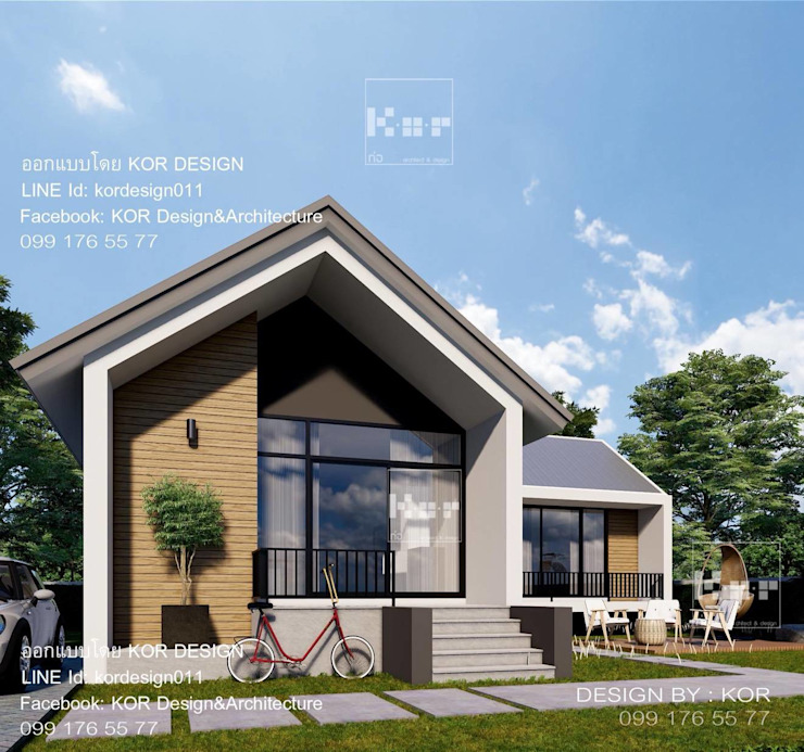 Nhà gia đình by Kor Design&Architecture