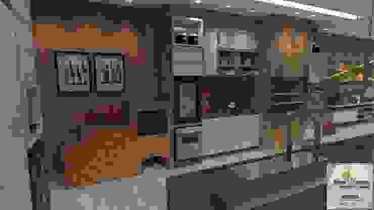 Cocinas de estilo moderno de Juliana Saraiva Arquitetura & Interiores Moderno