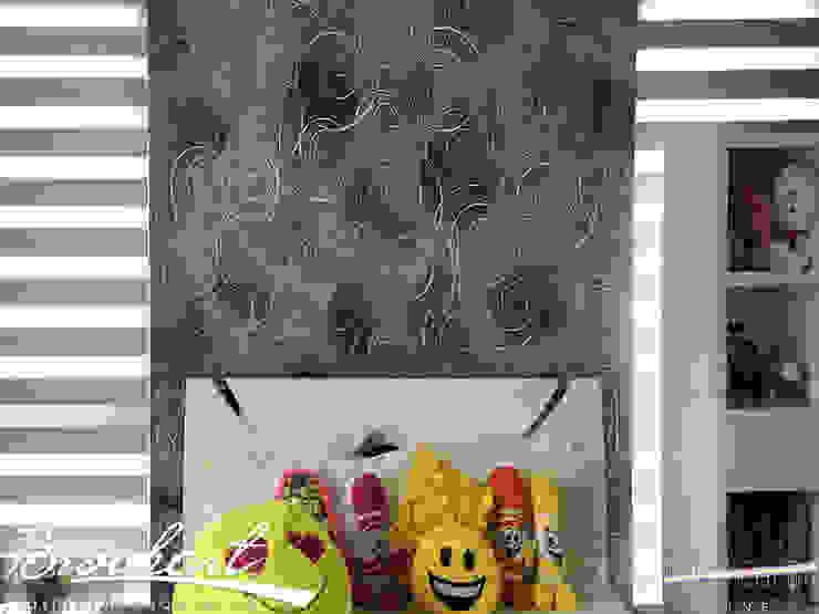 Técnica Arrobas © Brochart pintura decorativa Paredes y pisosRevestimientos de paredes y pisos