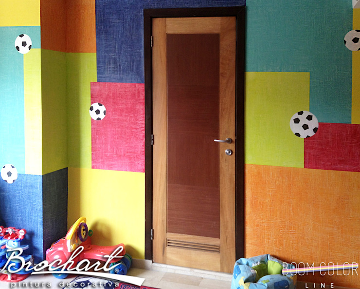Técnica Composición de Cuadros © Brochart pintura decorativa Paredes y pisosRevestimientos de paredes y pisos