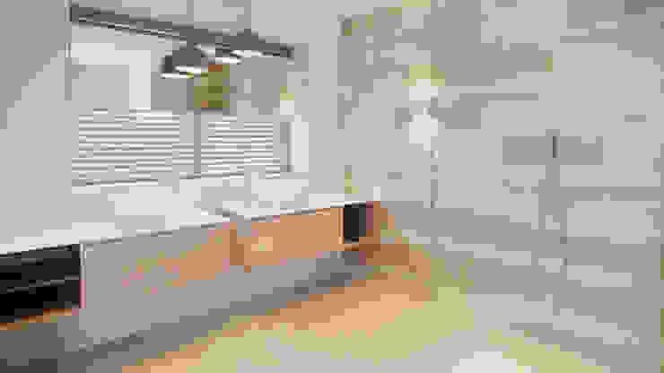 JH, ASSEN Moderne badkamers van Studio Doccia Modern Tegels