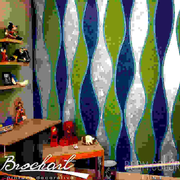 Técnica Corteza 3D © Brochart pintura decorativa Paredes y pisosRevestimientos de paredes y pisos