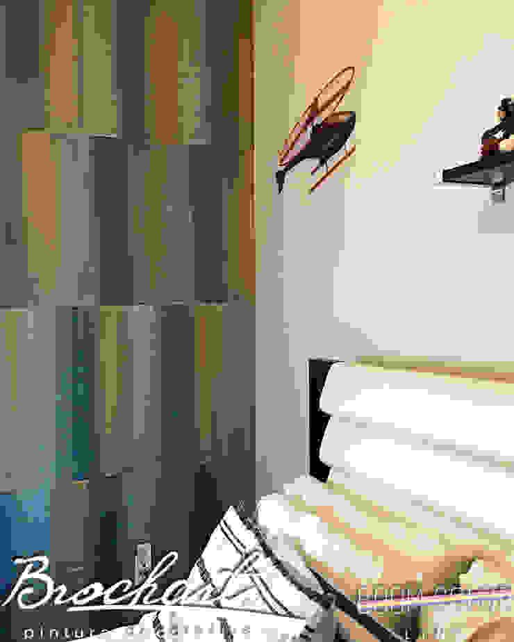 Técnica Fragmento Retro © Brochart pintura decorativa Paredes y pisosRevestimientos de paredes y pisos