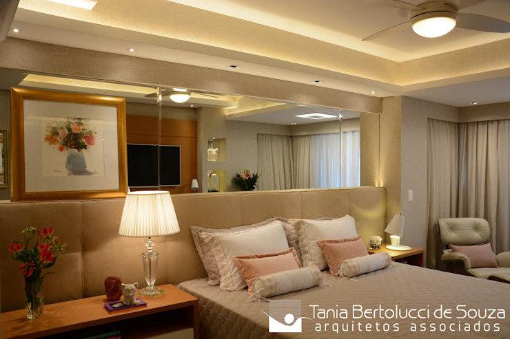 Tania Bertolucci de Souza | Arquitetos Associados ห้องนอน
