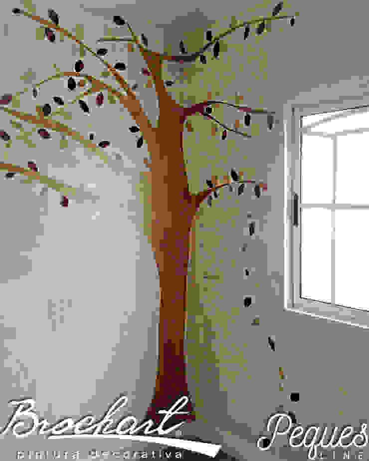 Técnica Árbol de los Sueños © de Brochart pintura decorativa Moderno