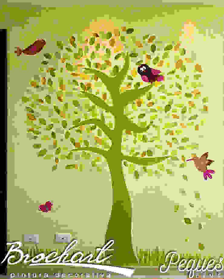 Técnica Árbol Manzano © de Brochart pintura decorativa Moderno