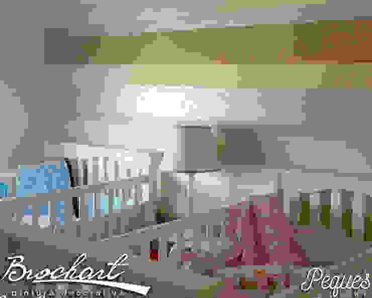 Técnica Rayas Chic Baby © de Brochart pintura decorativa Moderno